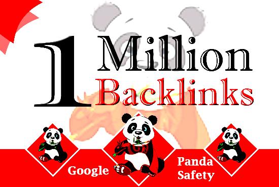 Get 1 million ultra SEO dofollow gsa backlinks tiered