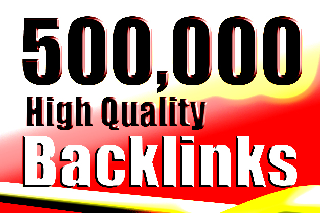 seo package of 500,000 gsa backlink service with contexual pyramid backlkinks