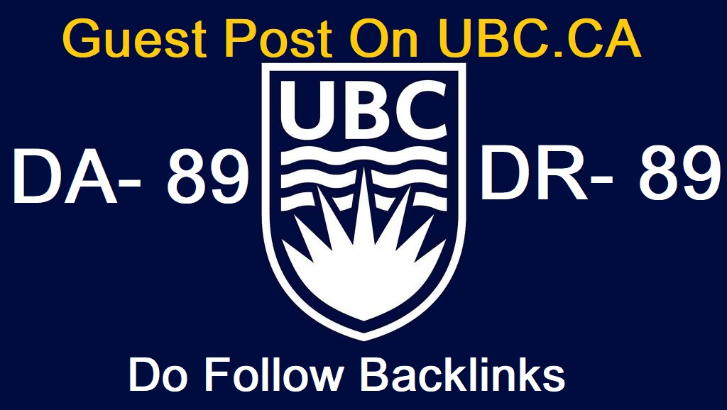 publish a guest post on ubc ca da 89 with dofollow backlink