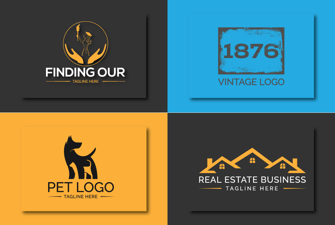 I will create a custom,  unique and modern logo design