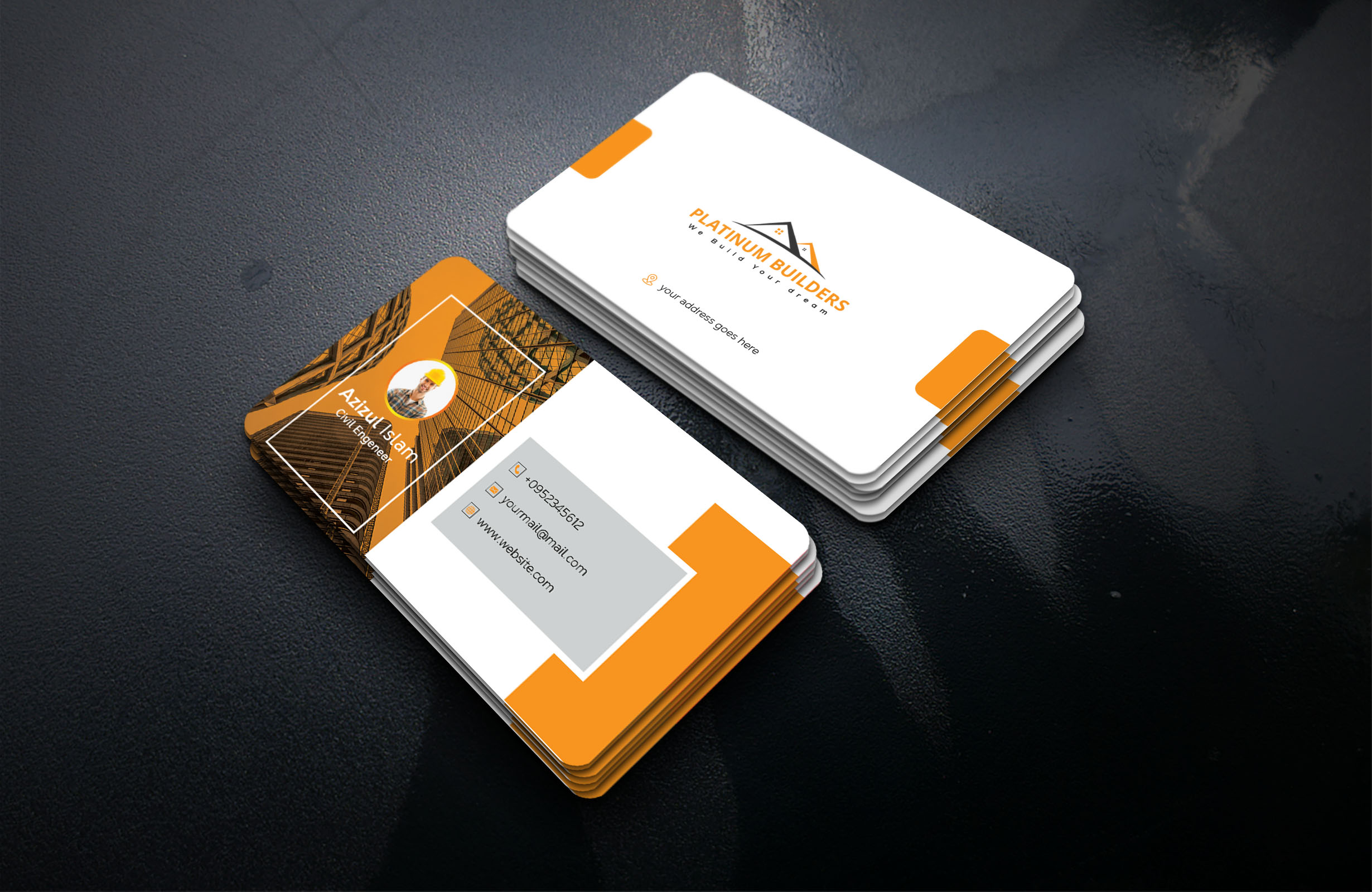 I will Design Professional Modern Business Card.