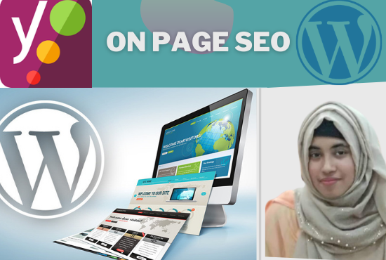 I will do on page SEO of your website targeting first search google ranking