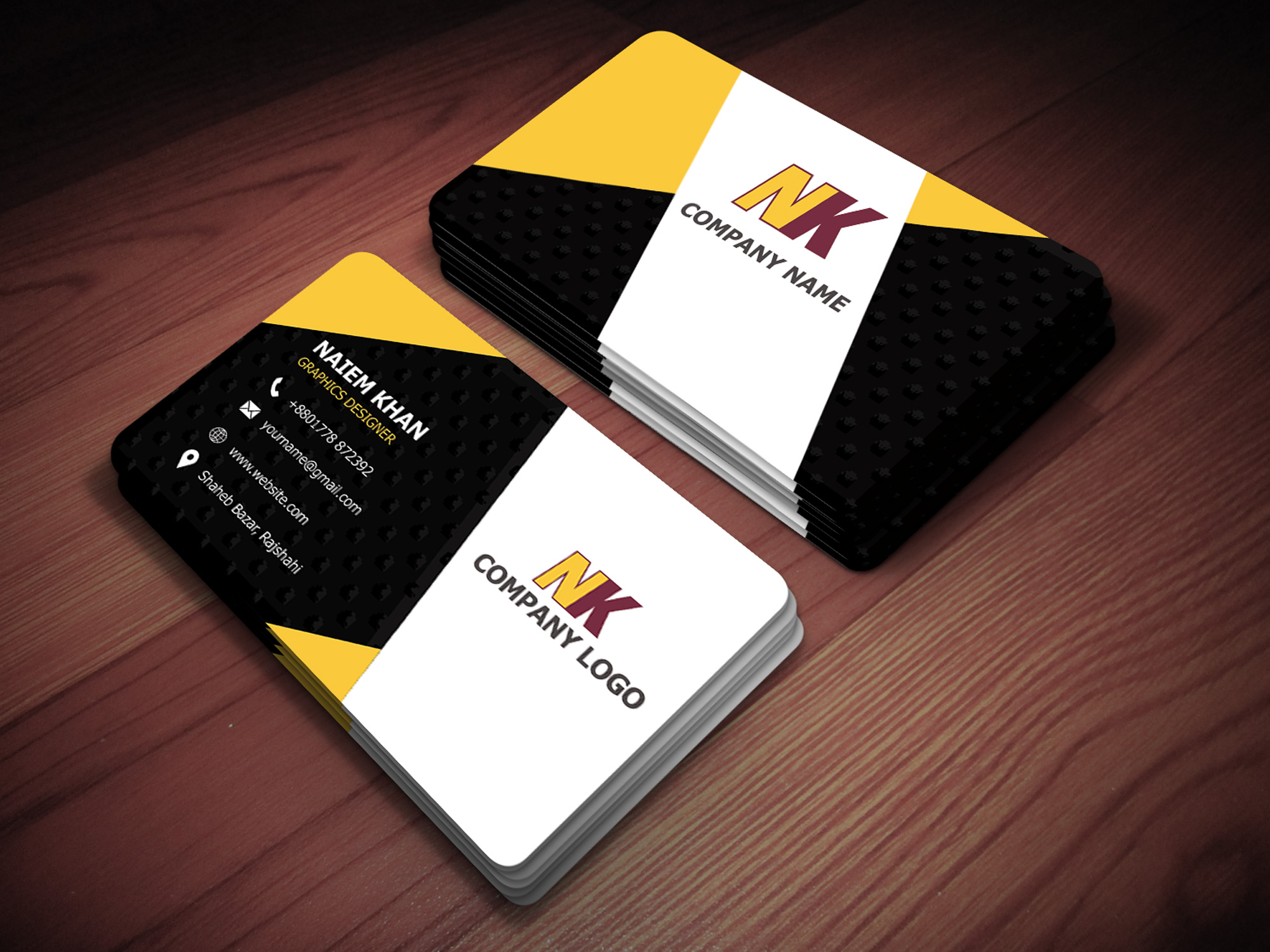 I will provide Professional Two sided Business Card design for your Company