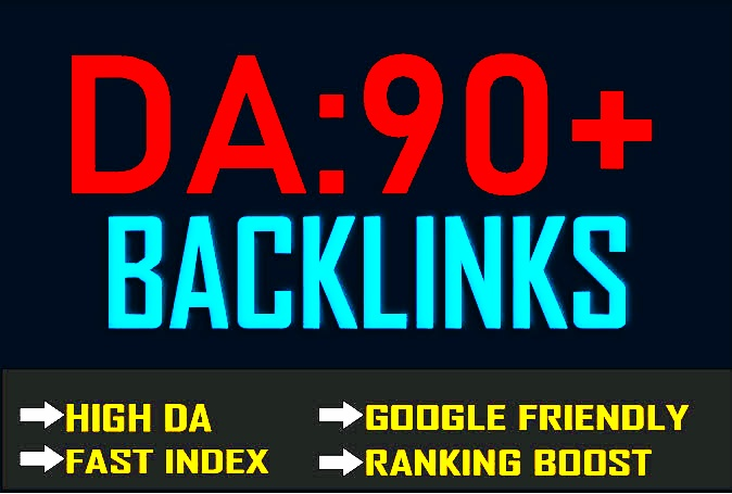 Increage Domain rank 250+link From High DA and 200 high DR and 50 EDU Faster booster Google RANKINGS