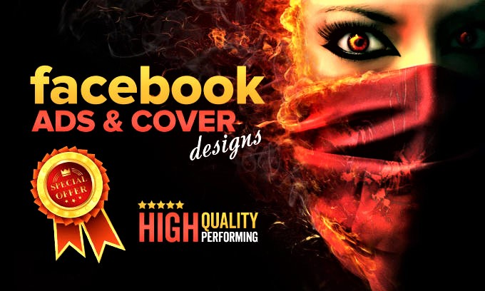 I will design high performing professional facebook ads