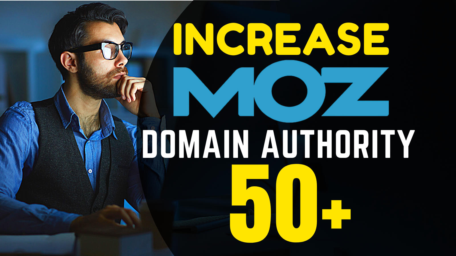 I will increase domain authority moz da with authority backlinks