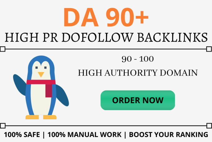 I will provide da 50 dofollow backlinks for off page seo