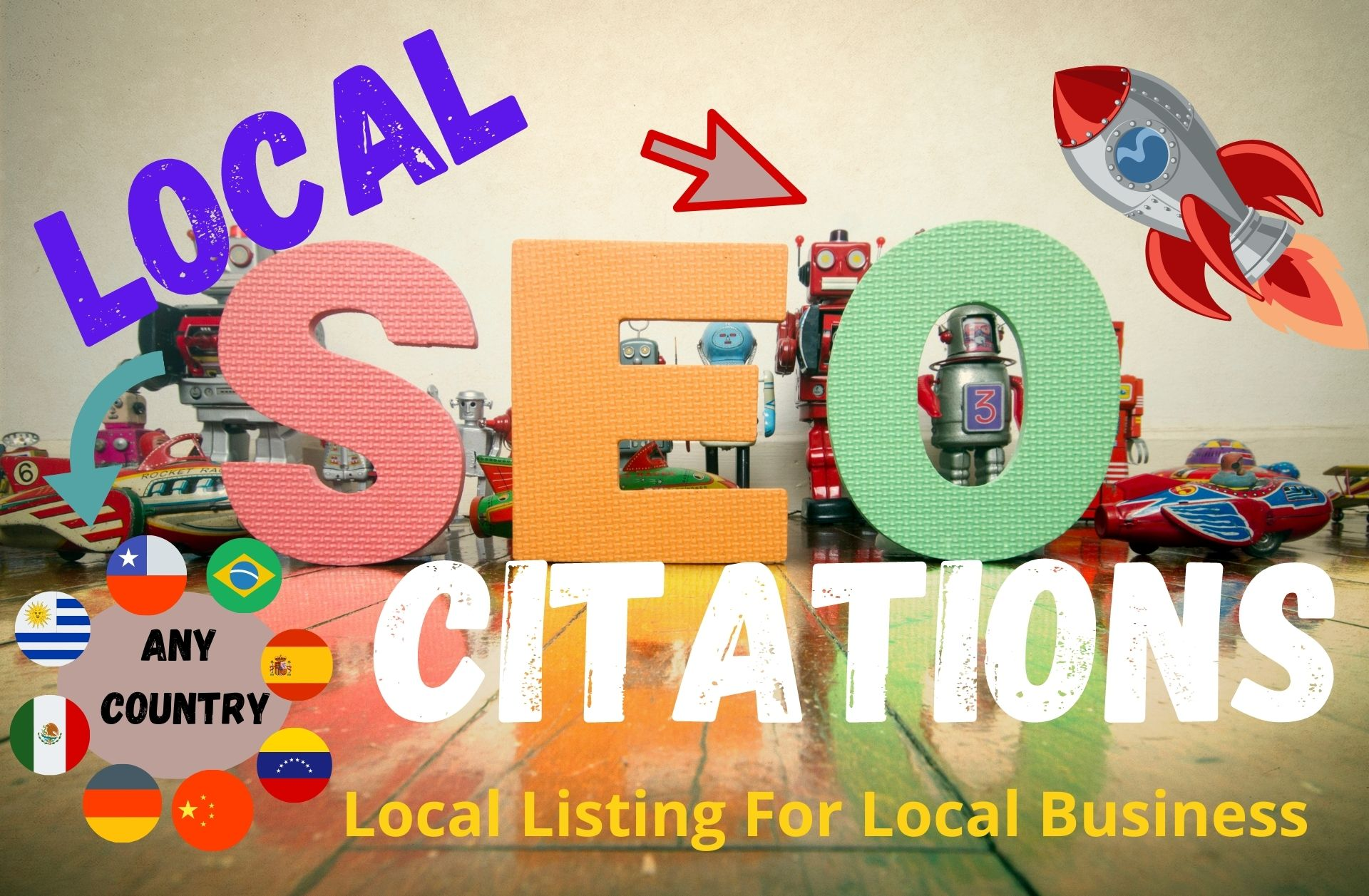I Will Create 50 Local Citations Or Local Listing For Any Country, Rank Your Business Website.