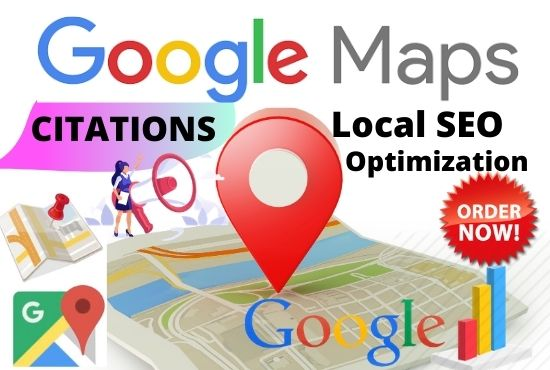 I will publish 150+ google maps citation to rank website,  directory submission,  business listing