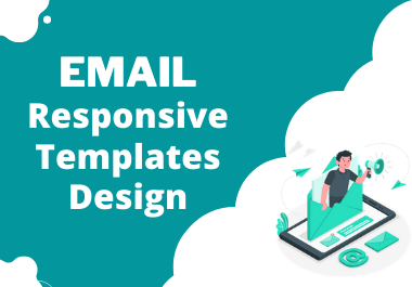 I will design eye catchy responsive email template and newsletter