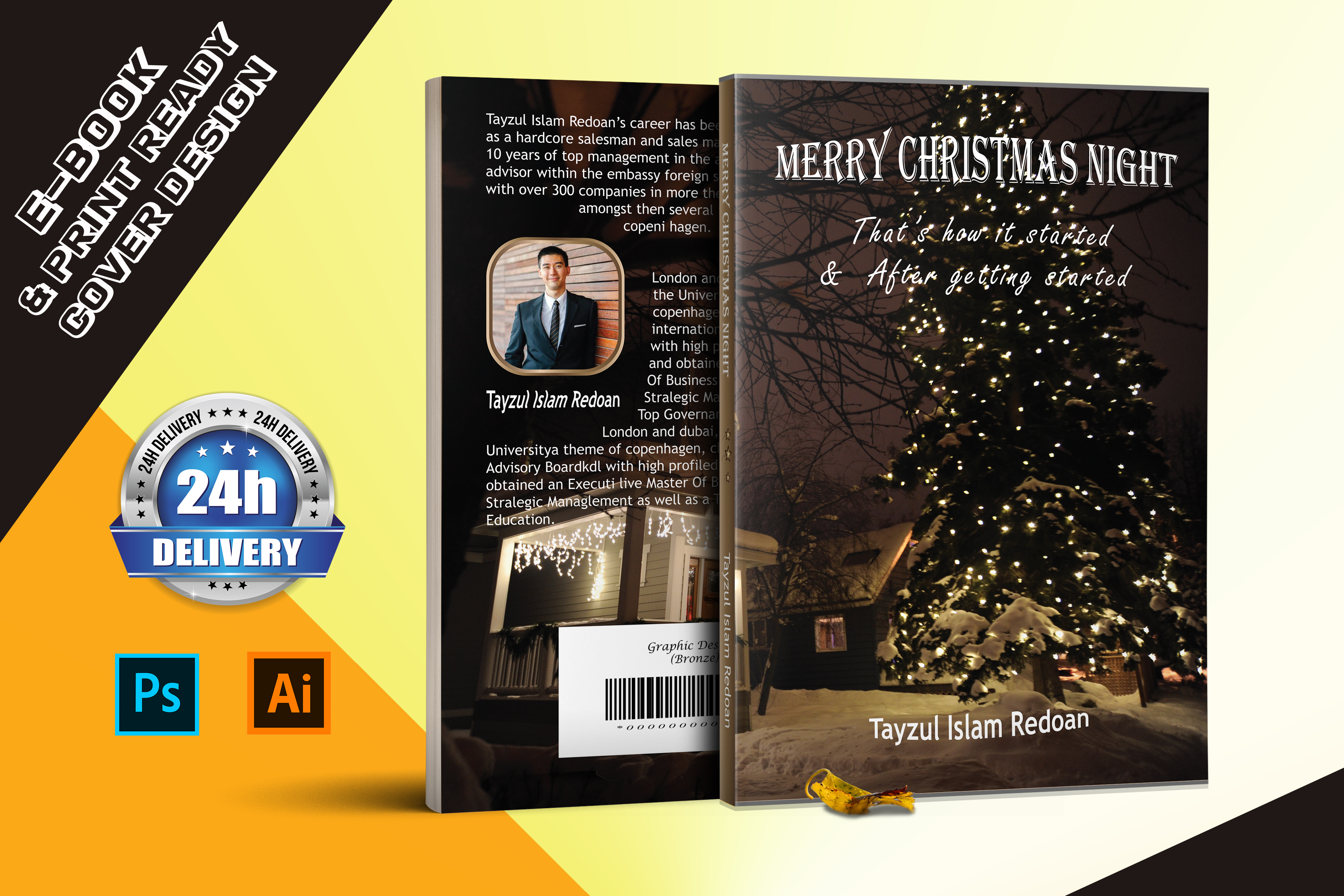 I will design Professional Book cover and all e-book cover formats