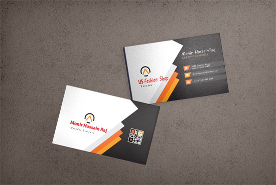 I will create a luxury and elegant professional visiting card design