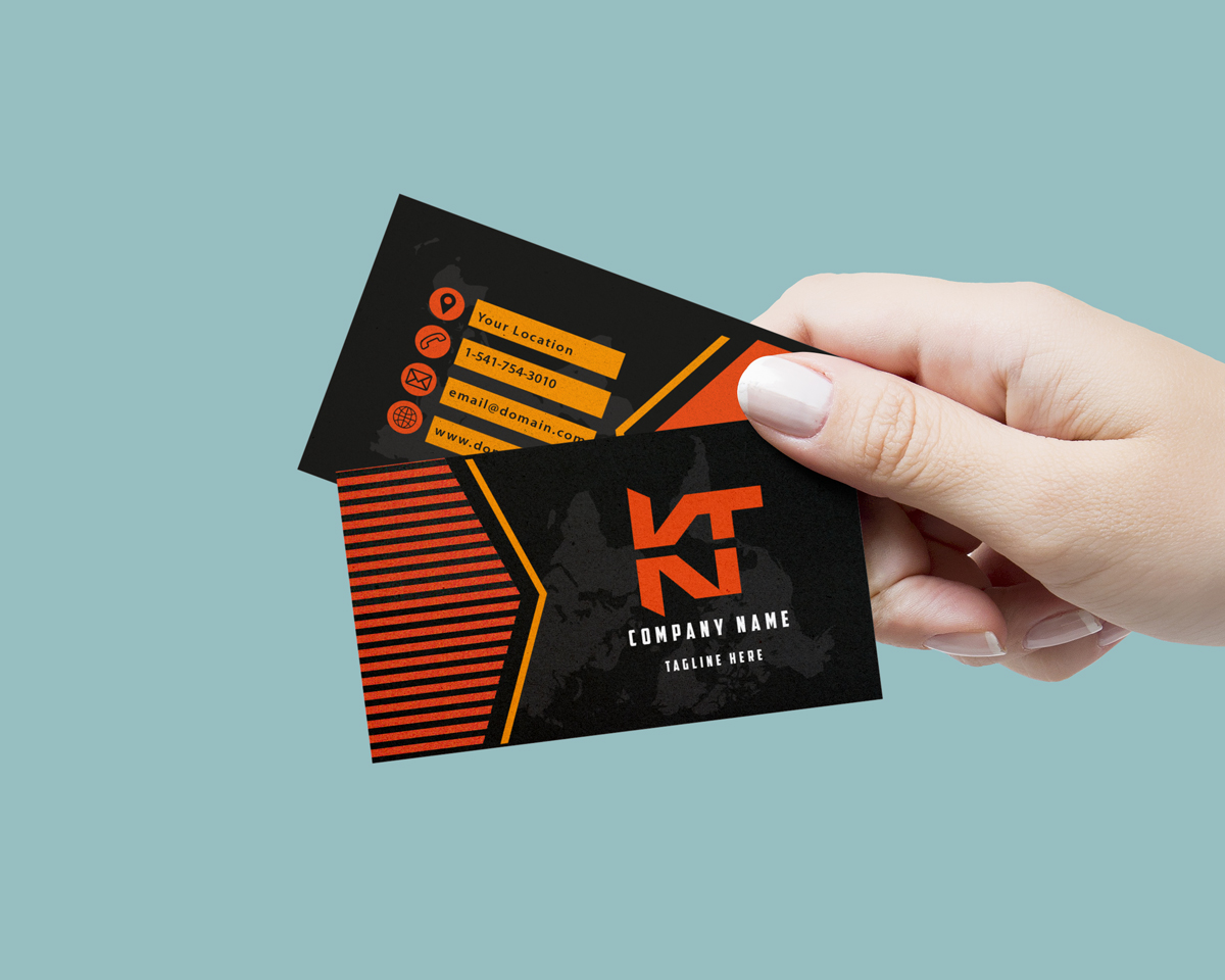 You will get an amazing business card designed for your company or personal needs