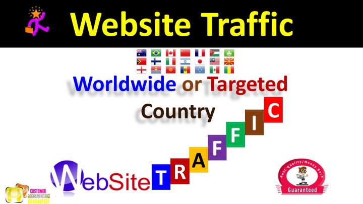 Bumper Offer 200,000 Worldwide Website USA Real Traffic Instagram, YouTube, Twitter, LinkedIn Traffic