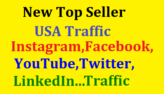 Bumper Offer 400,000 Worldwide Website USA Real Traffic Instagram, YouTube, Twitter, LinkedIn Traffic