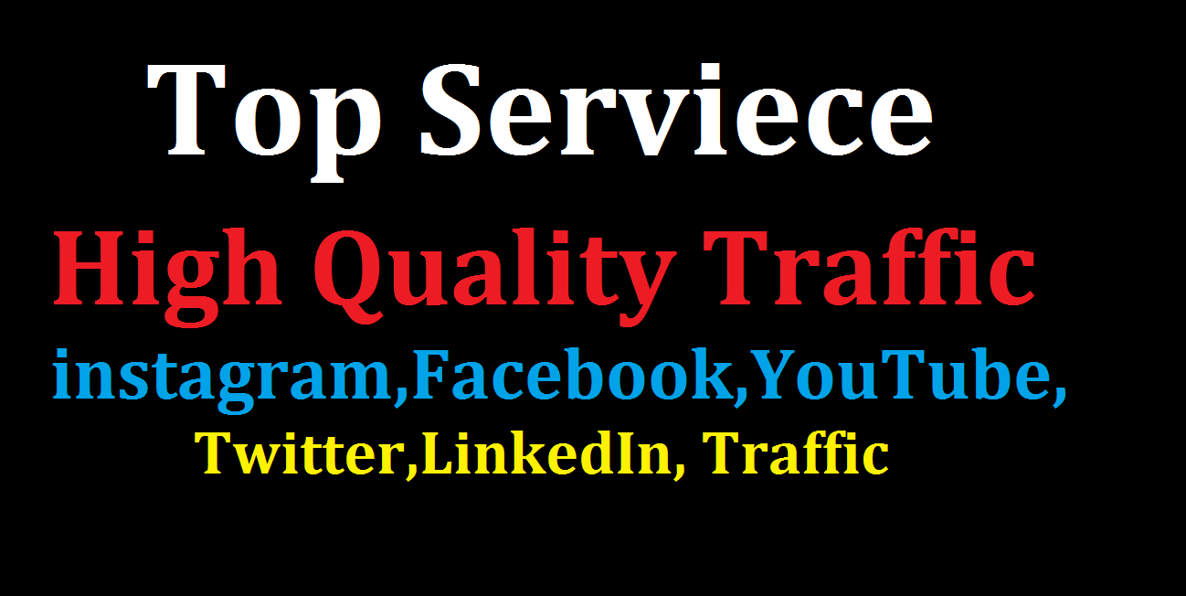 Bumper Offer 500,000 Worldwide Website USA Real Traffic Instagram, YouTube, Twitter, LinkedIn Traffic