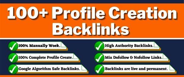 Create 100+ Unique Profile Creation Backlinks