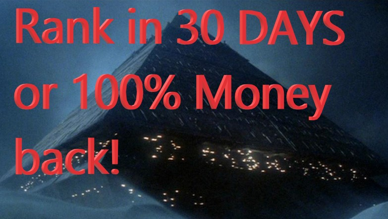 Rank Any Site in 30 Days on Google or 100% Money back
