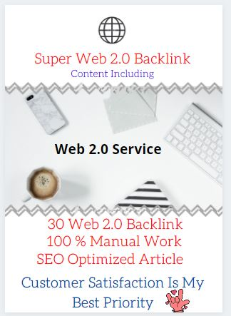 I will Build 30 Web 2 With Content