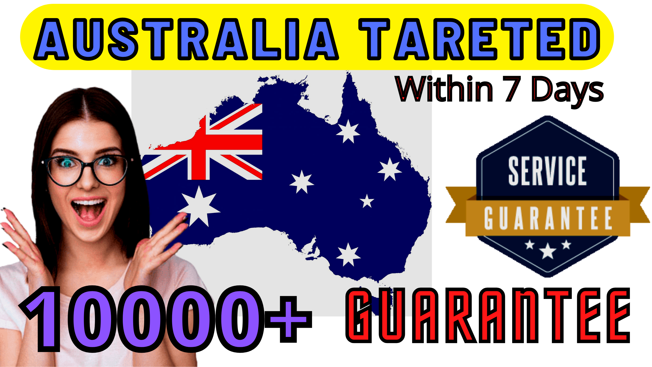 10000 Australia TARGETED Organic Web Traffic to your web or blog site within 7 days