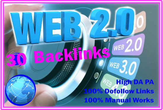 I will Create 10 web 2.0 Buffer Blogs and 50 Dofollow Profile Backlinks