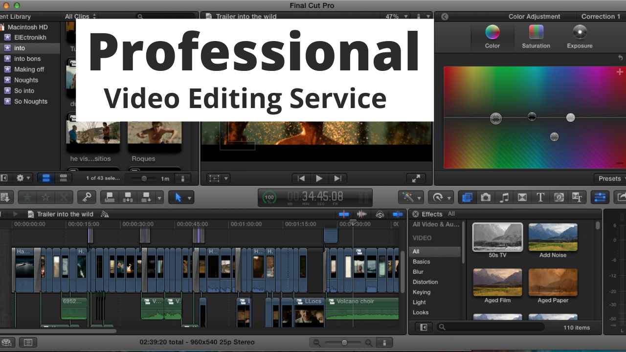 I will do professional awesome video editing within 12 hours