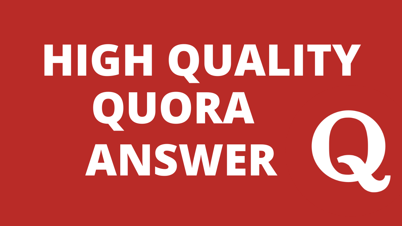 Promote your website 3 HighQuality Quora Answers