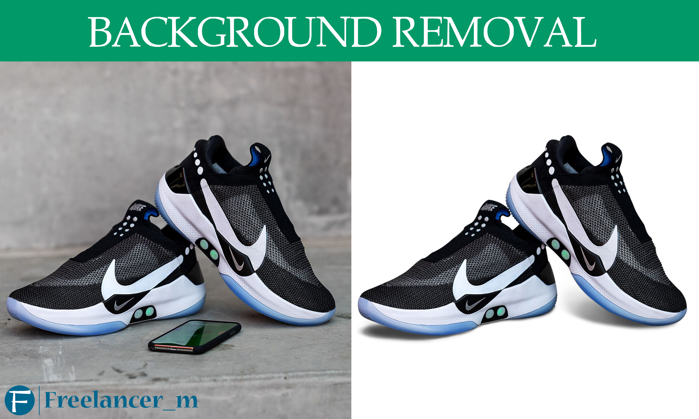 Product retouch and background removeal