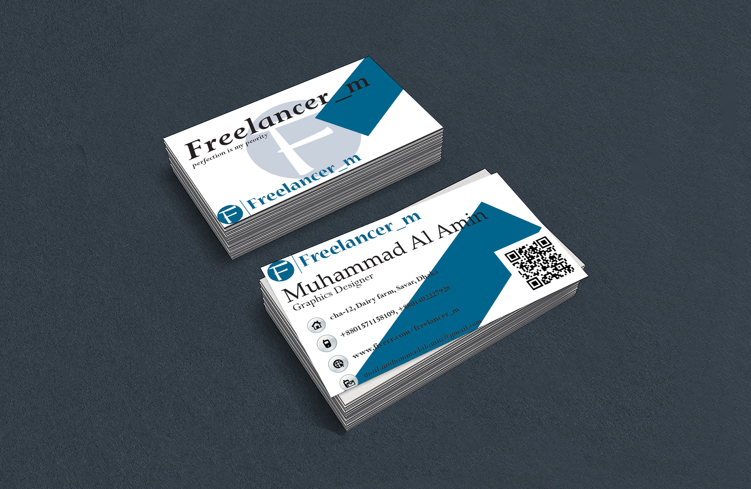 I will design your business card professionally