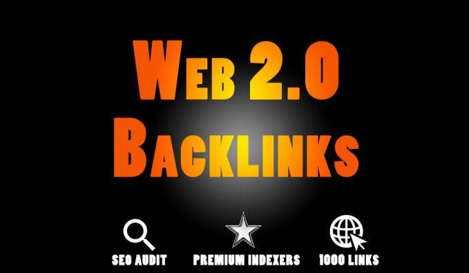 I will Get 50 web 2.0 backlinks