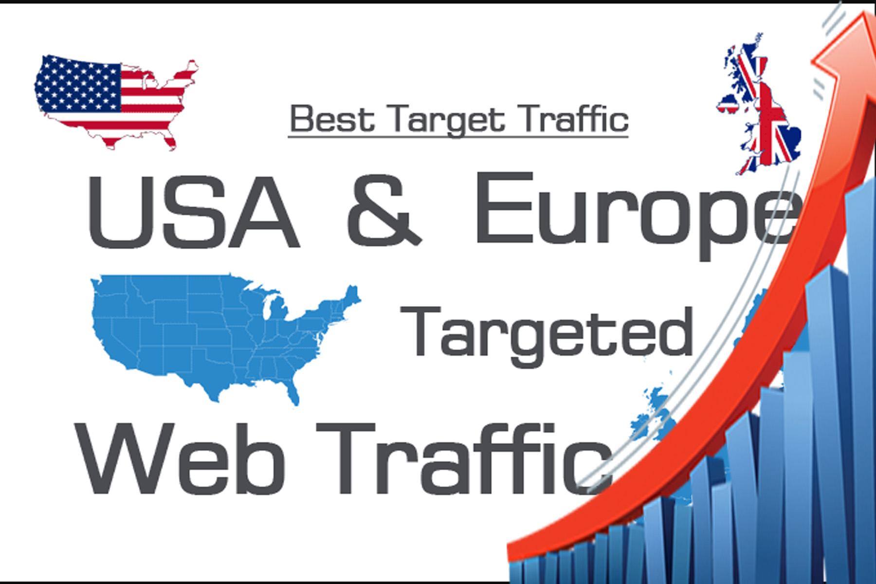 We can provide 1000 daily organic web traffic for your adults USA and EUROPE for 30 days