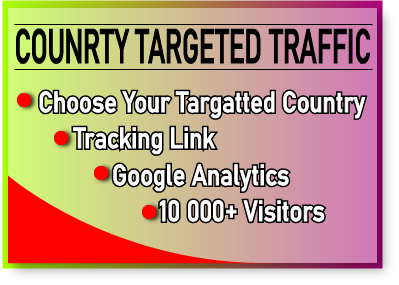 I Will Drive 10 000+ Country Targeted Visitor For Google Rank