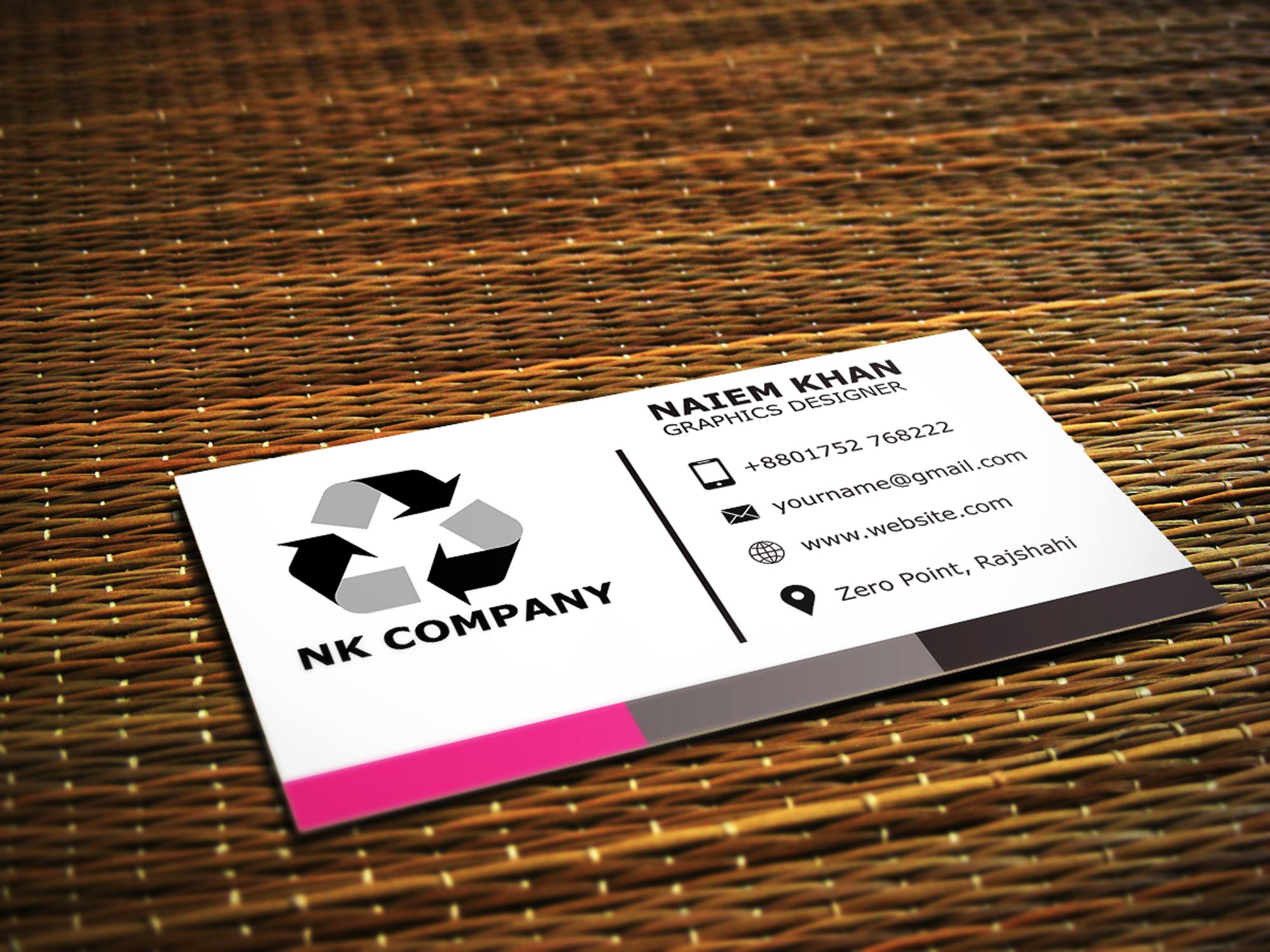 I will creative, unique and professional business card design