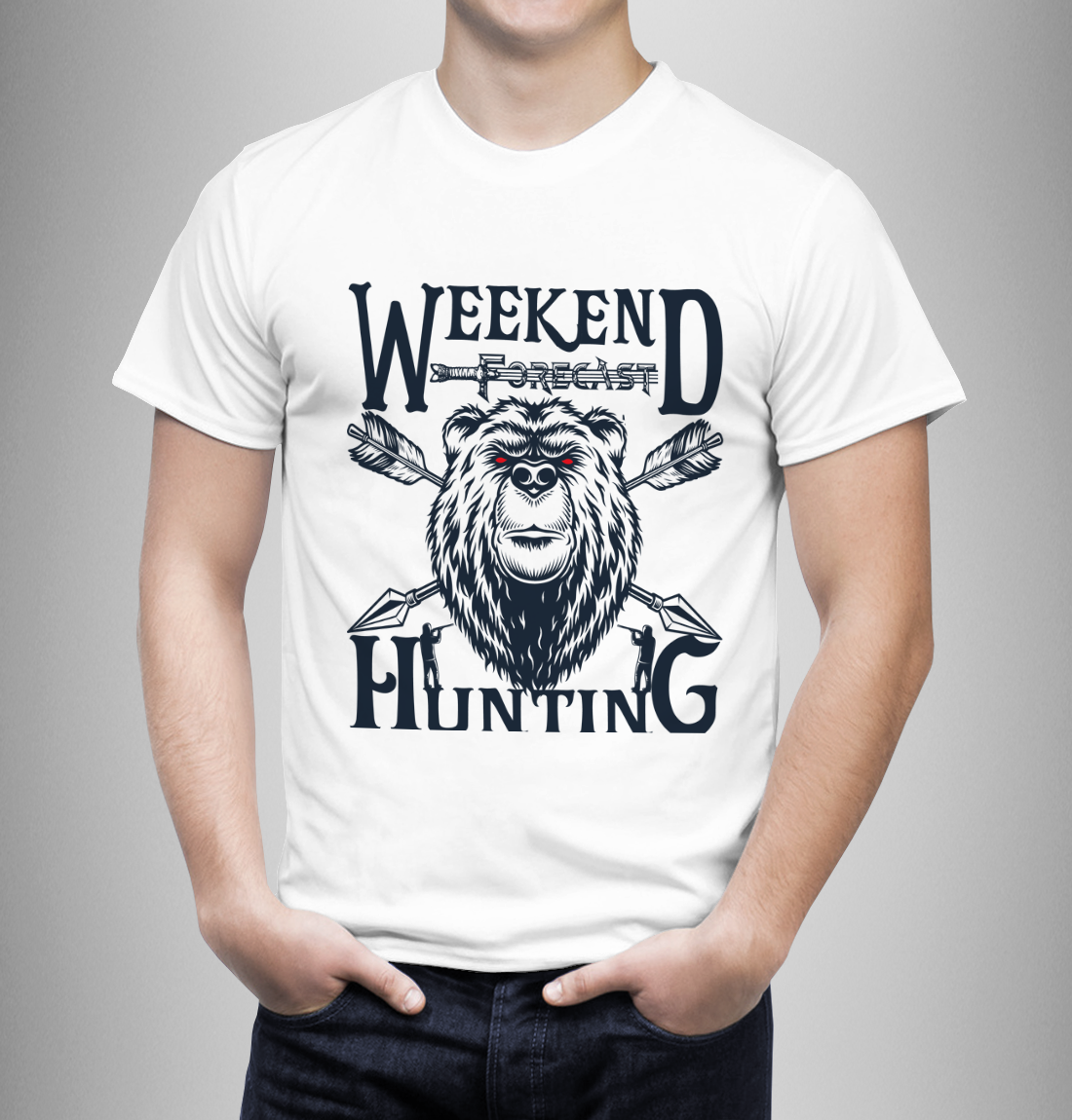 I will do custom and trendy t shirt design for your business