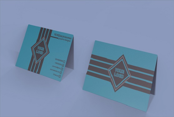I will create two premium and luxury business card design
