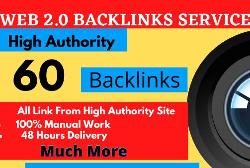 I will create 30 web 2 0 backlinks