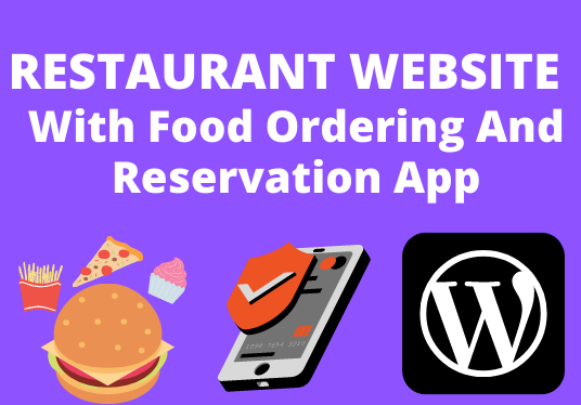 I Will Create Restaurant Website With App