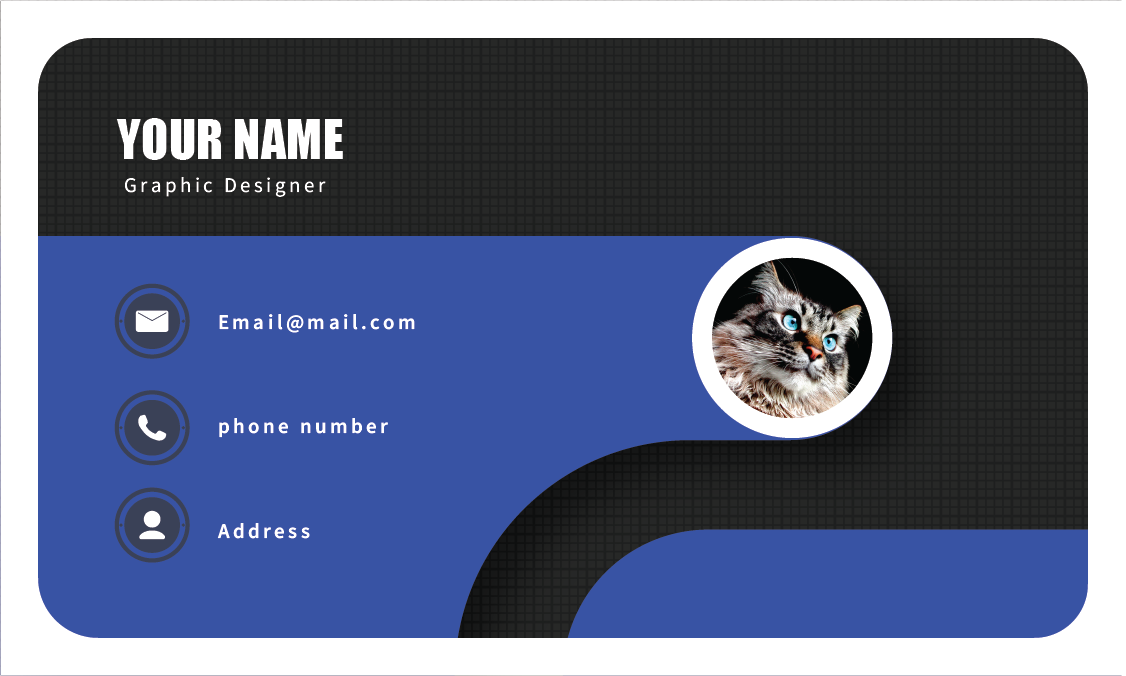 I can design a beautiful business card for you