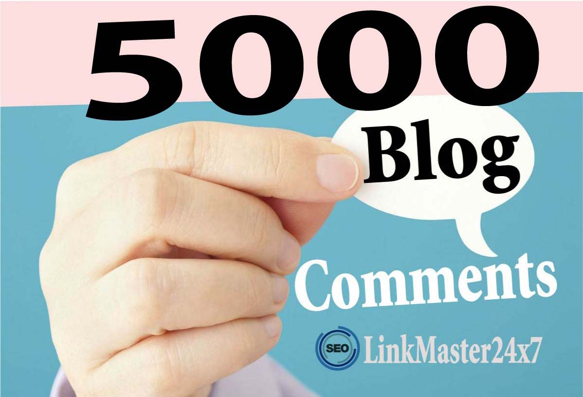 5,000 SEO Blog Comment Backlinks to Rank Your Website And GSA Blast