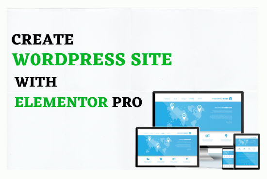 I will develop wordpress website or blog with divi or elementor pro