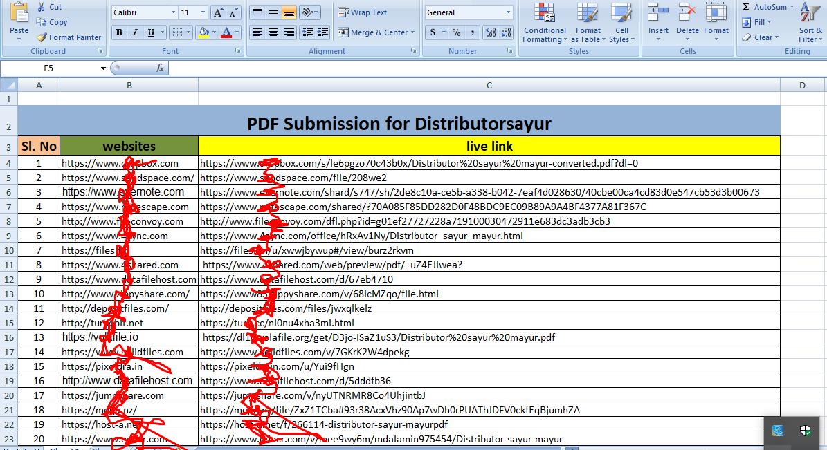 PDF Submission 31 Different Unique Site low spam score permanent post perfect linkbuilding.