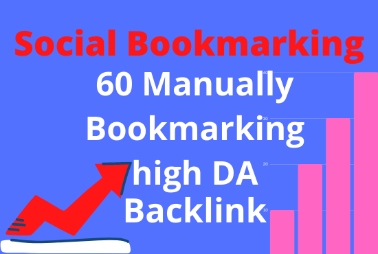 60 manually bookmarking high DA site