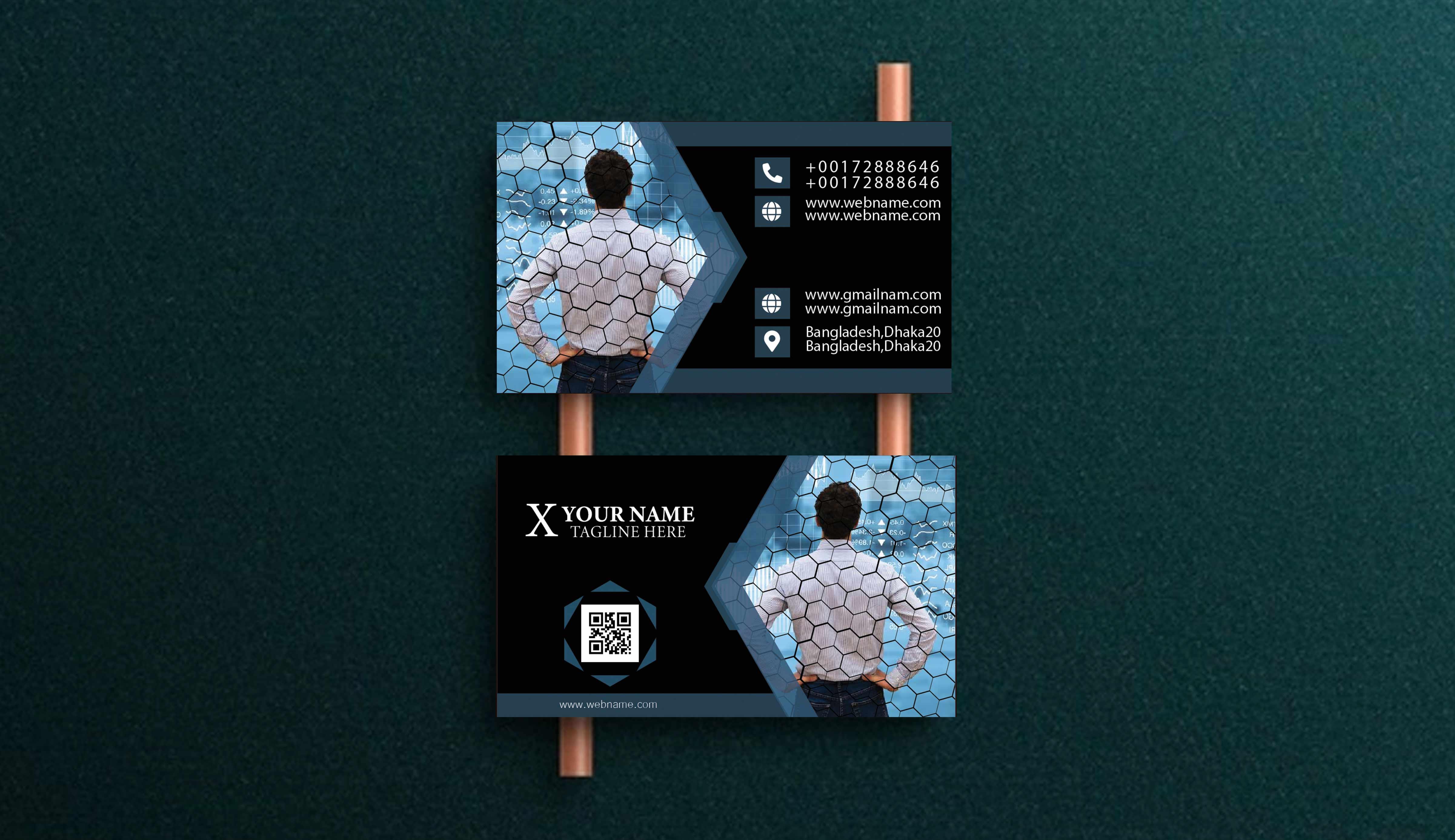 I will do unique professational Business Card Design
