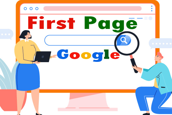 I will do SEO to rank your site on Google 1st page ranking