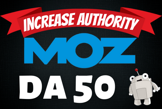 I will increase domain authority moz da 50