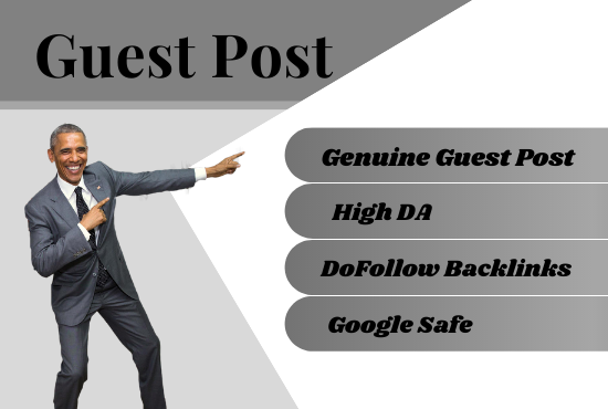 I will do high DA guest post for your business