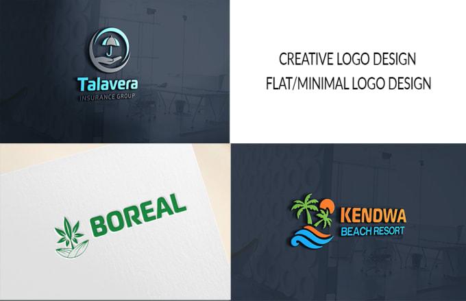 Design a Creative Flat or Minimal Logo