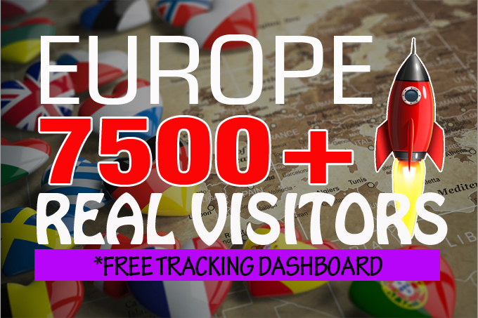7500+ monthly Europe real organic visitors with AdSense safe and low bounce rate