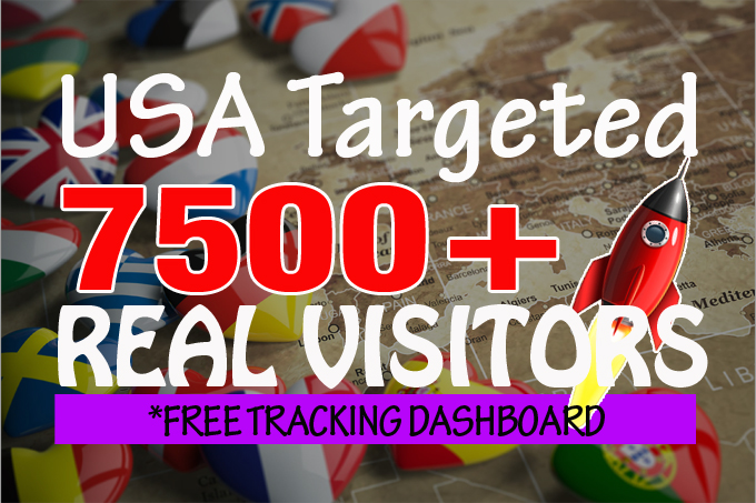 7500+ monthly American real organic visitors with AdSense safe and low bounce rate
