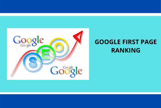 Guaranteed first page ranking on google
